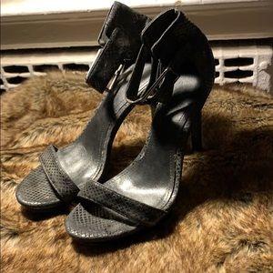 black calvin klein high heels